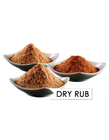 Pagani Dry rub Estilo barbacoa Americana