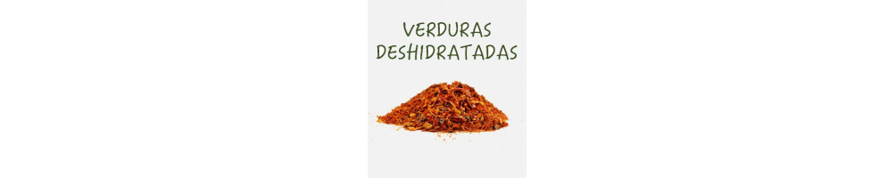 Verduras deshidratadas | Especias y maquinaria Mampel
